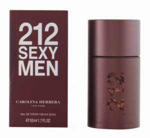 Perfume Carolina Herrera | 212 Sexy Men | 50 ml