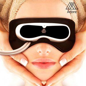 Renoveye ™ Máscara de Massagem P/Olhos  | Sinais de Fadiga Faciais, Olheiras  | Rugas /Função Terapia de Música