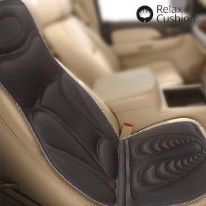 Assento Massageador Térmico Shiatsu Relax Cushion | 5 Modos Massagem | Calor | C/Comando