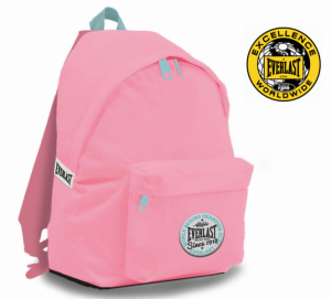 Everlast® Since 1910 USA | World Box Champion Club | Mochila Cor Rosa 43 Cm