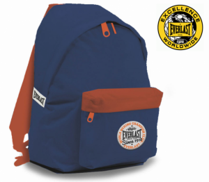 Everlast® Since 1910 USA | World Box Champion Club | Mochila Cor Navy 43 Cm