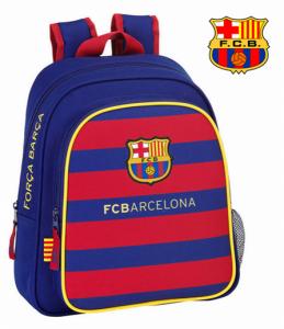 FC Barcelona | Mochila C/Bolso Duplo 28 x 34 x 10cm | Produto Licenciado