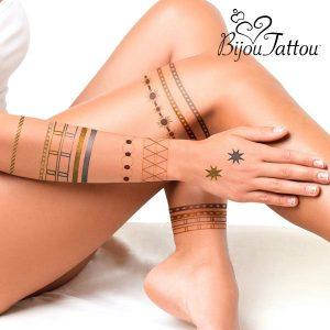 Bijou Tattou | Tatuagens Temporárias | Decore Qualquer Parte do Seu Corpo