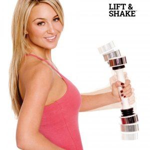 Lift & Shake | Halter P/Mulher | Tonifique os Músculos do Braço | Bíceps | Tríceps | Antebraço | Ombros e Costas