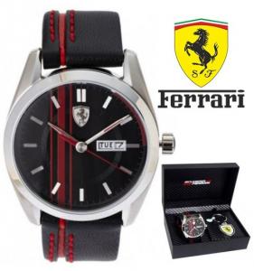 Conjunto Ferrari® Scuderia Black C/ Porta Chaves