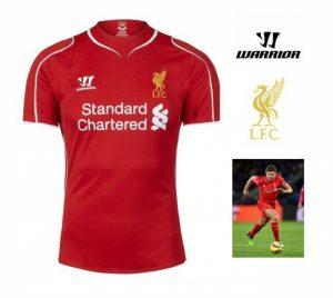 Warrior Camisola Junior Oficial Liverpool | Clube Mítico em Inglaterra