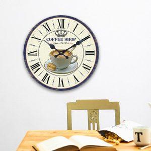 Relógio de Parede Café