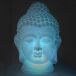 Cabeça Buda Led | Muda Automaticamente de Cor | Junte-se à Moda Oriental