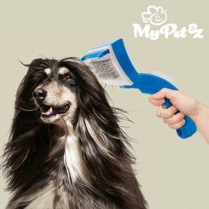 My Pet Bristles Escova Para Animais | Proporcione um Pentear Suave Enquanto Massageia a Pele do Seu Animal