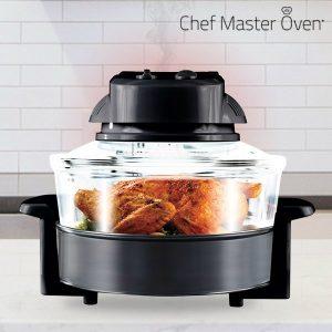 Chef Master Oven Forno de Convecção | Grelha , Descongela , Assa, Coze e Frita