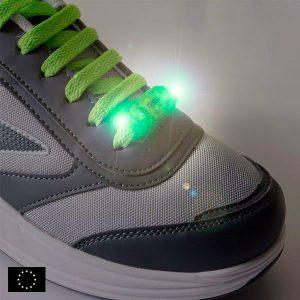 Luz Led de Segurança Para Cordões  Pack de 2   Aumente a Sua Visibilidade e Segurança