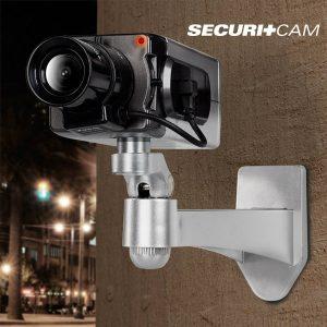 Câmera de Vigilância Falsa T6000 | Sensor de Movimento Diurno | Securitcam