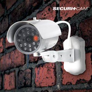Câmera de Vigilância Falsa M1000 | Com Sensor de Movimento Diurno | Securitcam