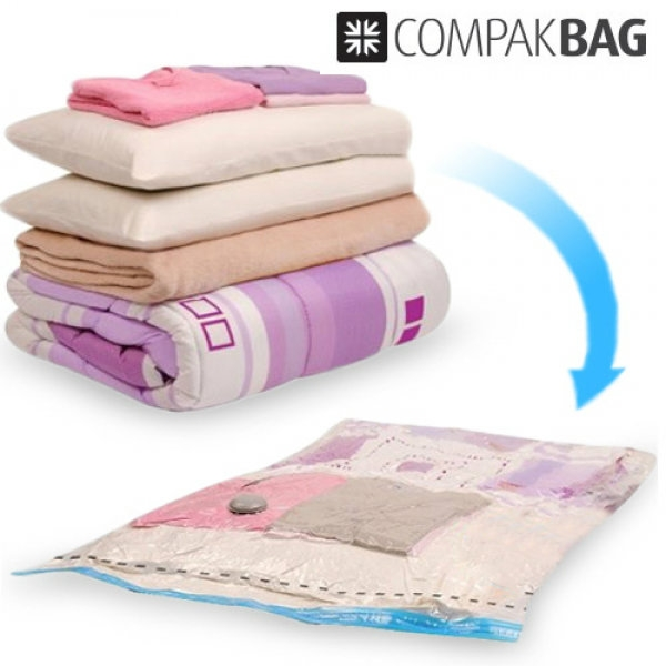 Pack 2 Compak Bag Vacuum Bags For Clothes