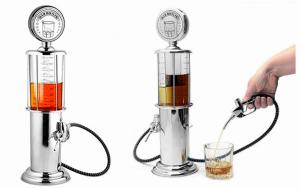Dispensador Vintage de Bebidas | Design das Bombas de Gasolina Tradicionais dos Anos 50