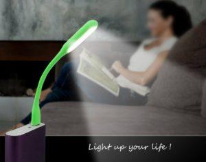 Mini Luz Led Flexível | Adequado para Qualquer Ocasião | 5 Cores Disponíveis