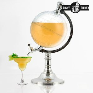 Ricky Drink | Dispensador de Bebidas em Forma de Globo