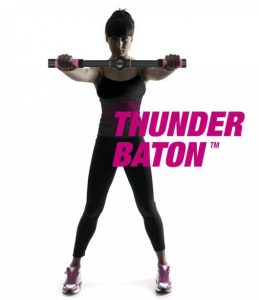 Thunder Baton Barra de Exercício de Mulher Para Músculos Peitorais | 6 Níveis de Resistência