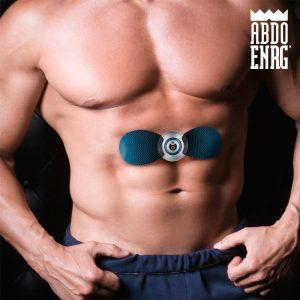 Eletroestimulador Abdo Enrg Wing | 6 Programas Diferentes com 10 Níveis de Intensidade