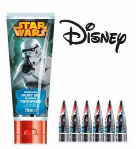 Star Wars | Pasta de Dentes Júnior 75ml | Produto Licenciado