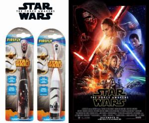 Star Wars | Escova de Dentes Elétrica | Produto Licenciado