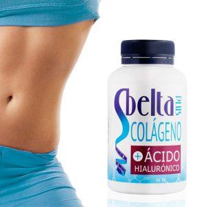 Suplemento Alimentar | Colagénio e Ácido Hialurónico Sbelta Plus 120 Comprimidos