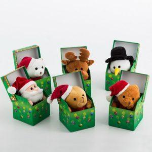 Peluches Musicais | 6 Diferentes | Caixa Decorativa | Escolha o Seu