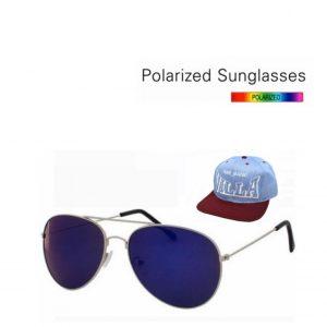 PACK ESPECIAL Cap Pure Magic Com Regulador de Tamanho +  Óculos de Sol Tipo Aviador  Lente Azul Espelhada | 2 Cores á Escolha !
