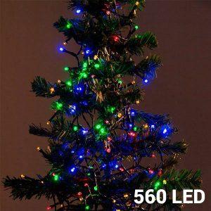 560 Luzes Multicolor Led | Com 8 Opções de Luz Para Interiores e Exteriores