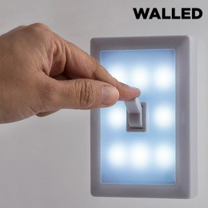 Interruptor Portátil Com 8 Luzes Led SW15 Walled