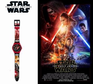 Star Wars | Relógio Analógico Slim | Produto Licenciado