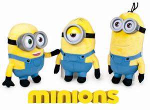 Minions | Peluche Minions 28cm Sortidos | Produto Licenciado