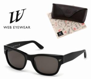 Web Eyewear® Óculos Sol By Marcolin Italy | Shiny Preto L