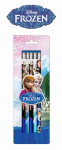 Frozen | 5 Lápis com Borracha | Produto Licenciado