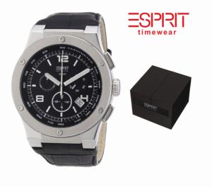 Relógio Esprit® Phorcys | Bracelete Pele | 10 ATM