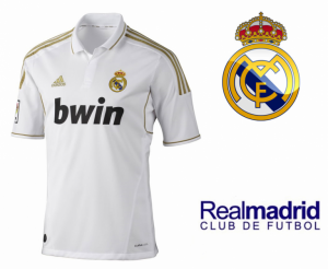 Adidas® Camisola Oficial do Real Madrid Branca