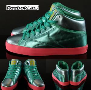 Reebok® T-Raw Verde Esmeralda em Pele