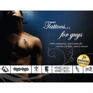 Adultos Maiores 18 | Conjunto  4 Sexy Tattoos Para Eles | Made In USA