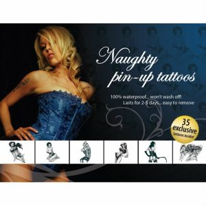 Adultos Maiores 18   35 Impertinentes Pin   Ups Tattoos Deusa Sexy   Made In USA Processo Patenteado