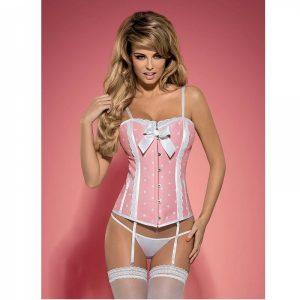 Obsessive Corsett Pink | Desenhado Com Todos os Detalhes e Na Mais Alta Qualidade