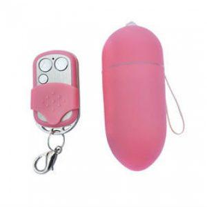 Adultos Maiores 18 | Ovo Vibrador | 10 Velocidades | Controle Remoto Rosa