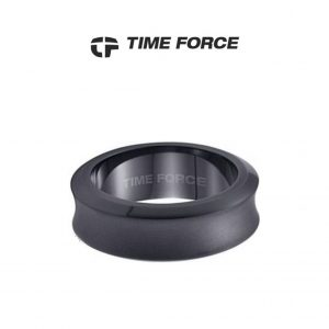 Time Force® Anel Masculino Prateado Aço 19,1mm TS5027S20