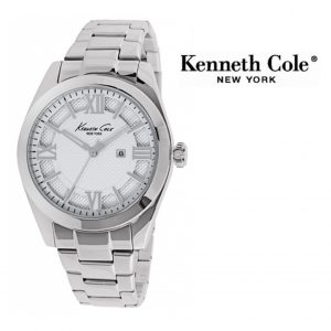 Relógio Kenneth Cole® New York Dress Sport Prateado | 3ATM