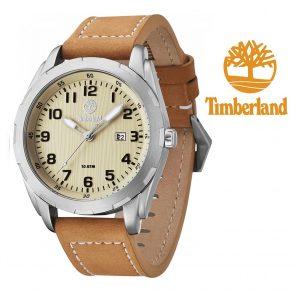 Relógio Timberland® Newmarket Bracelete em Couro | Data | 10ATM
