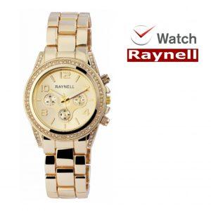 Relógio Raynell Woman | Mostrador Dourado | Movimento Quartzo de Alta Qualidade