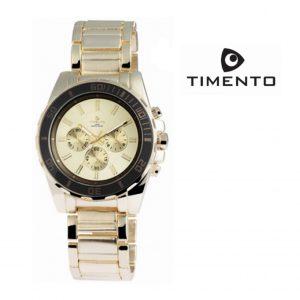 Relógio Timento Dourado 3ATM