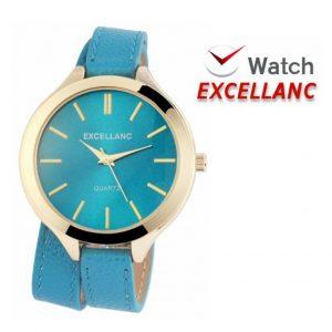 Relógio Excellanc Woman Azul I Movimento Quartzo de Alta Qualidade