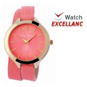 Relógio Excellanc Woman Rosa | Movimento Quartzo de Alta Qualidade