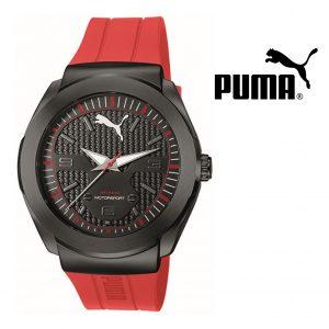 Puma® Motorsport | Bracelete Silicone Vermelha | 10ATM
