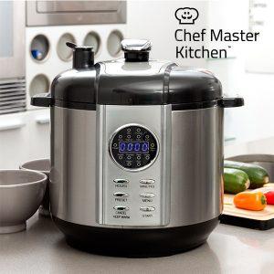 Robot de cozinha Smart Pressure Cooker | Panela de Pressão Eletrica Programável Chef Master KItchen